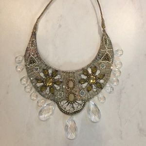 Anthropologie beaded necklace.